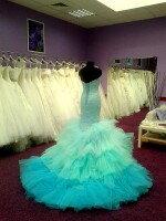 Индивидуальный пошив необычного свадебного платья русалка