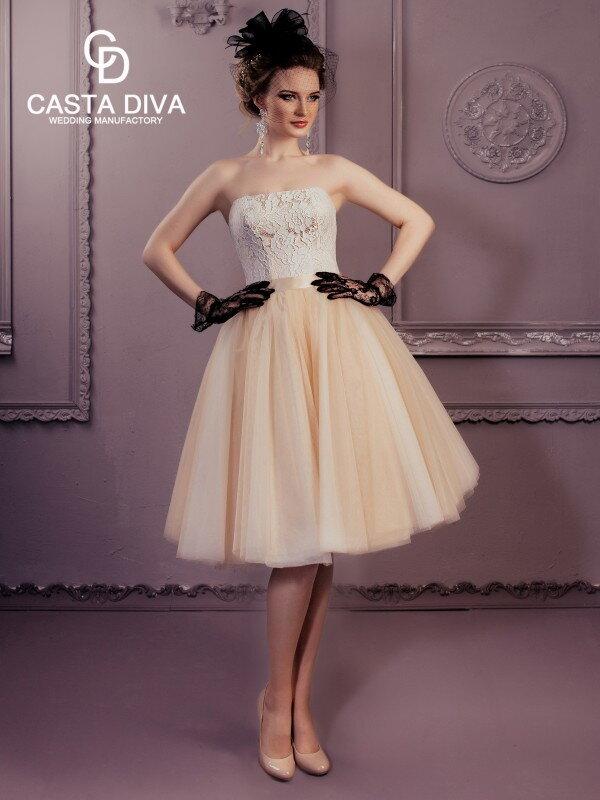 Золотое свадебное платье Valery 0122m
