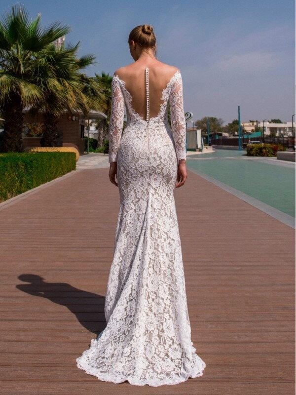Цветное свадебное платье Pandora 323