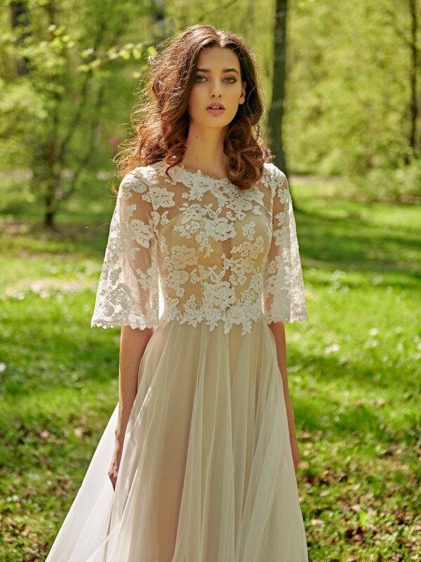 Цветное свадебное платье Simona 215m