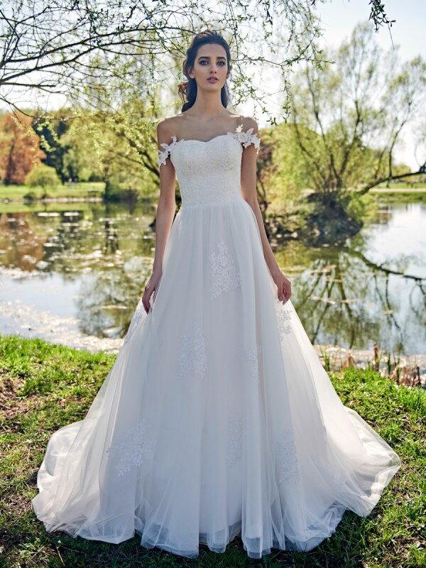 Пышное свадебное платье Sharlota 716a