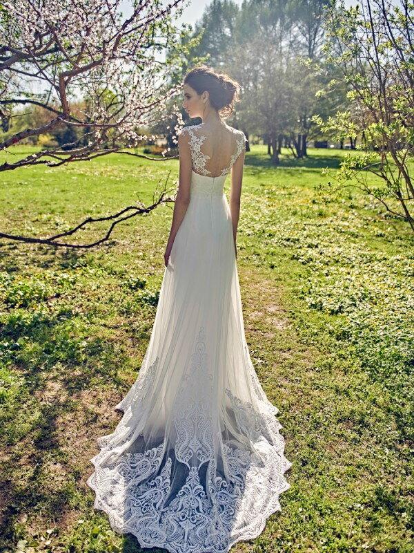 Кружевное свадебное платье 898