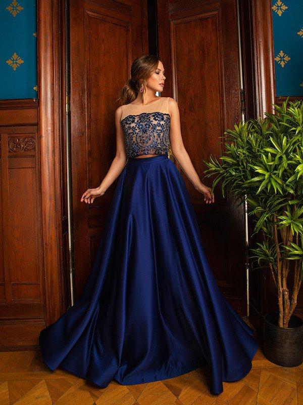 Вечернее платье на выпускной Viola 71019