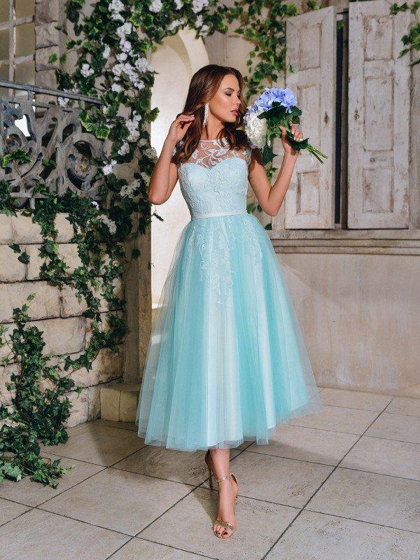 Платье подружки невесты Lira midi 71040