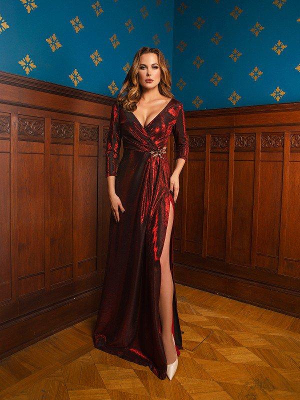 Вечернее платье на выпускной Nancy 71064