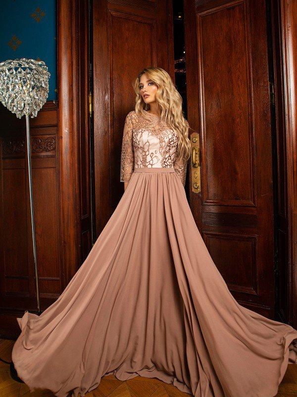 Вечернее платье на выпускной Palmyra 71068