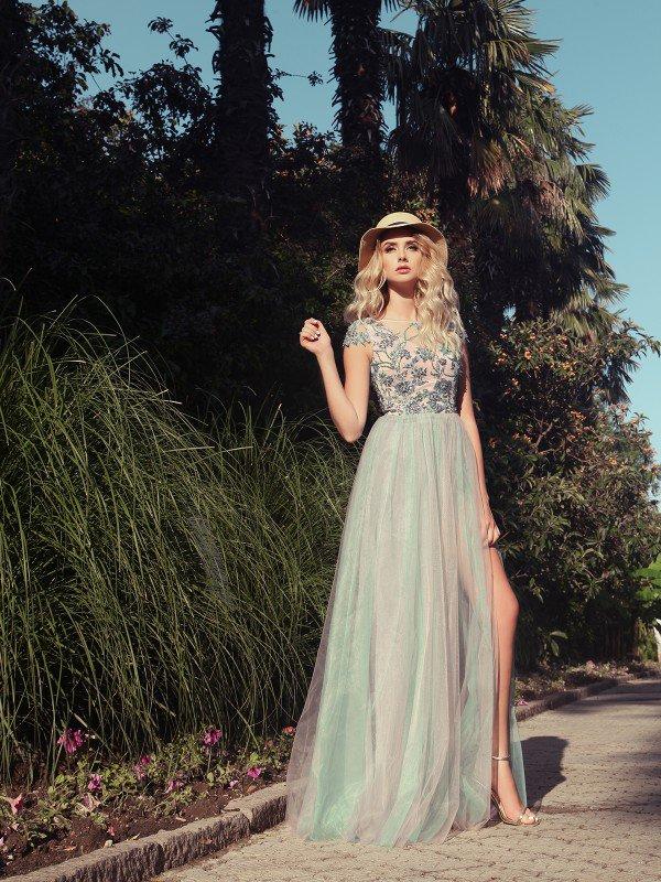 Вечернее платье на выпускной Ванесса 710007