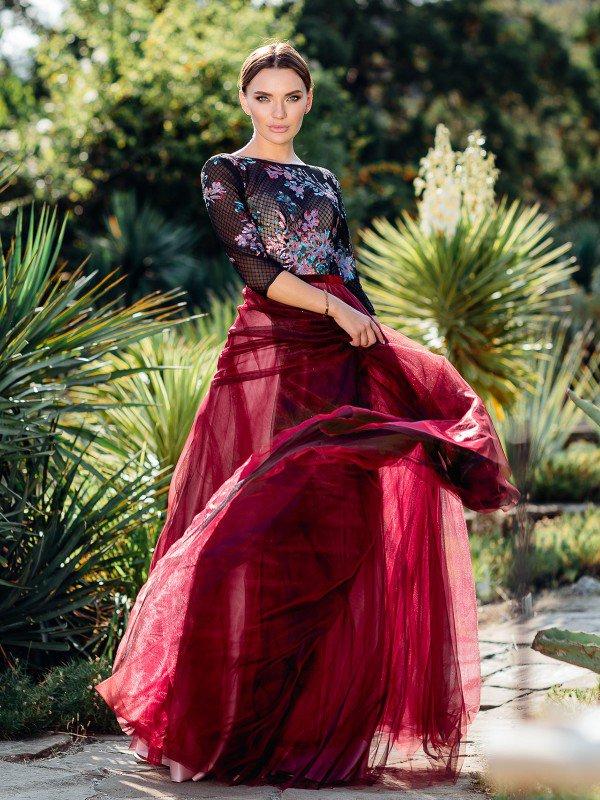 Вечернее платье на выпускной Юдит 710003