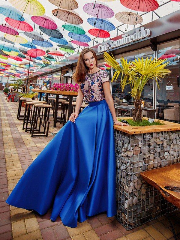 Вечернее платье Gabrielle 71021