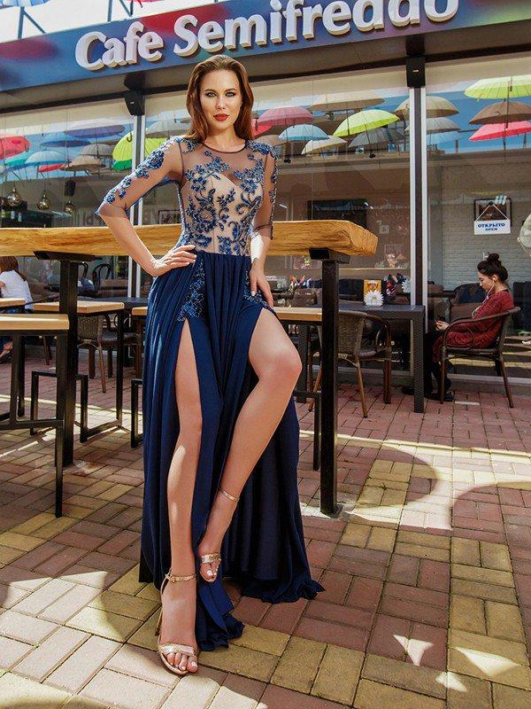 Вечернее платье на выпускной Holly 71089