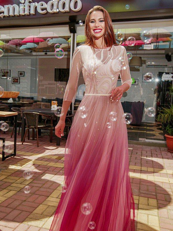 Вечернее платье на выпускной Rosally 71075