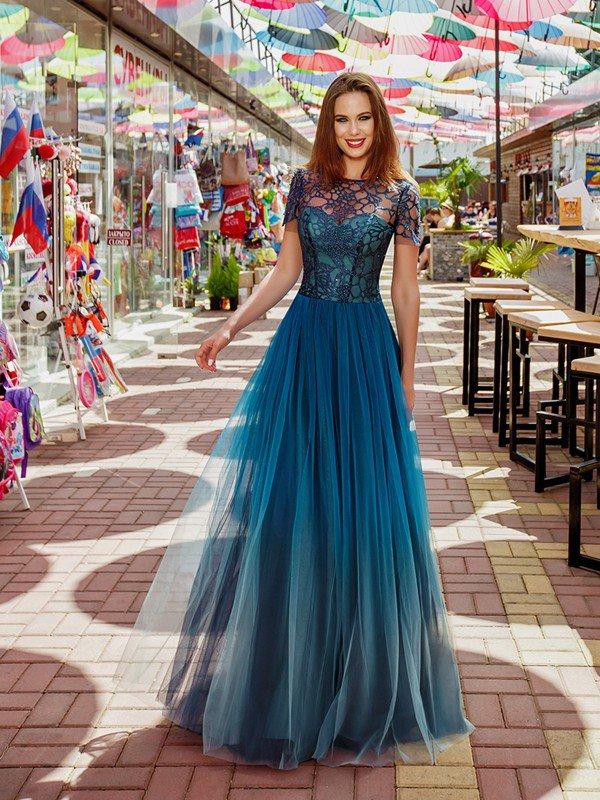 Вечернее платье на выпускной Thea 71084