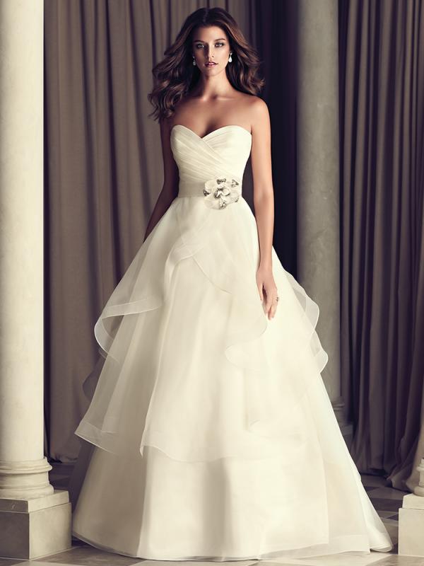Пышное свадебное платье 0609a