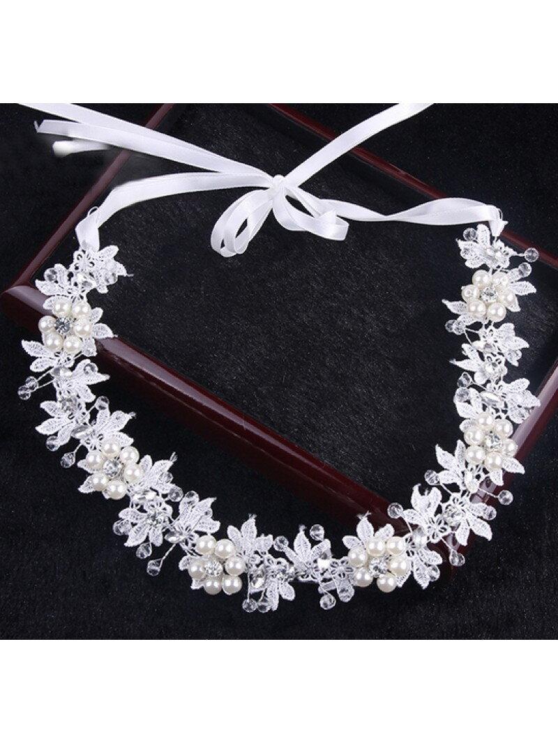 Аксессуар для невест подвязка с жемчугом арт. 2226