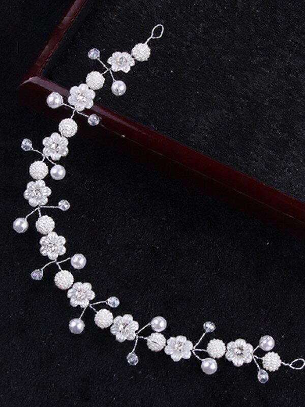 Украшение для невесты с жемчужинами арт. 2228
