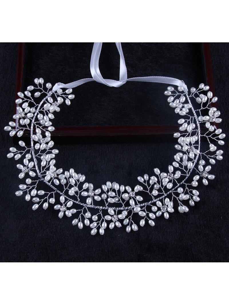 Подвязка для невесты с жемчужинами аксессуар арт. 2229