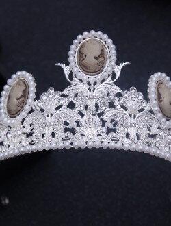 Диадема для невесты с жемчугом арт. 2232
