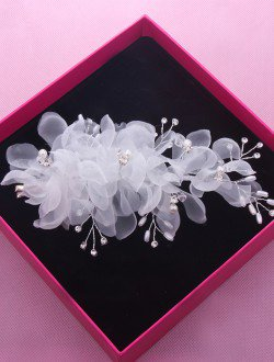 Аксессуар для невест заколка с камнями арт. 2234