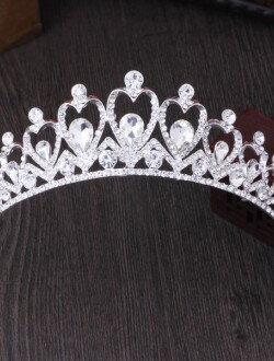 Аксессуар для невест диадема с крупными камнями арт. 2236