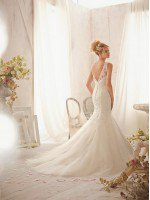 Свадебное платье кружевная русалка арт. 0070
