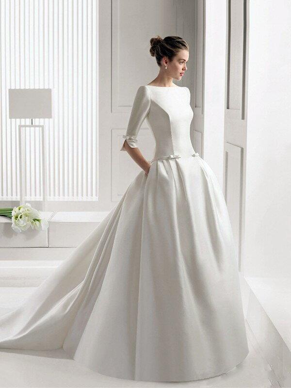 Пышное свадебное платье для полных 0824a