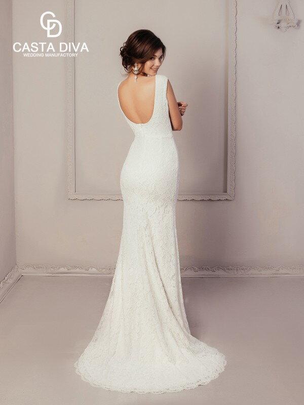 Облегающее свадебное платье Avril 221