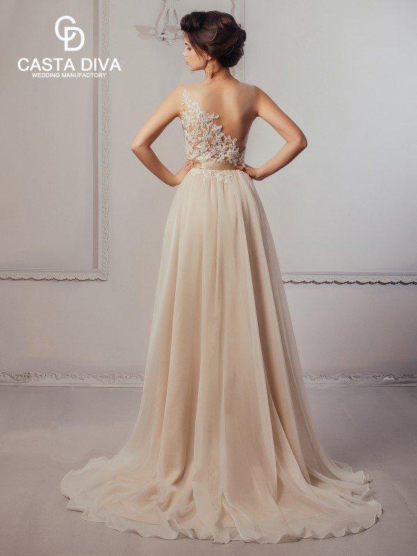 Золотое свадебное платье Ildy 112m