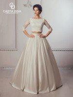 Раздельное свадебное платье топ и юбка  арт. 465