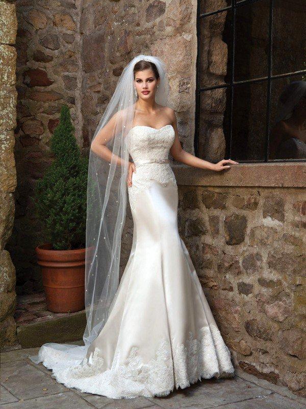 Открытое свадебное платье 707