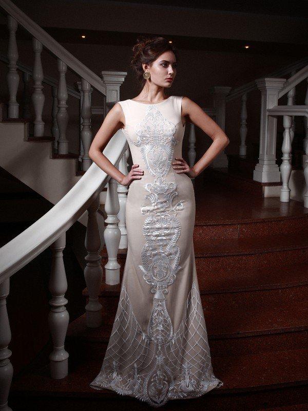 Открытое свадебное платье 281