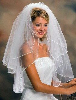 Фата пышная свадебная ф2