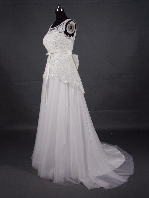 Пошив свадебного платья ампир