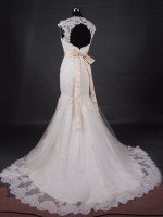 Пошив свадебного платья русалка