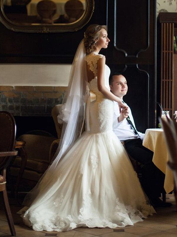Свадебное платье Пошив свадебного платья русалка