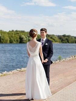 Пошив греческого свадебного платья