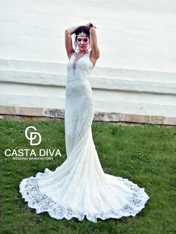 Облегающее свадебное платье Amely 075