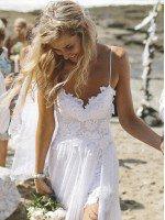 Пляжное свадебное платье арт. 0133