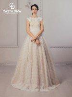 Свадебное платье арт. 507 мокко