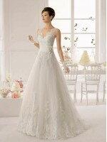 Пошив свадебного платья А силуэт