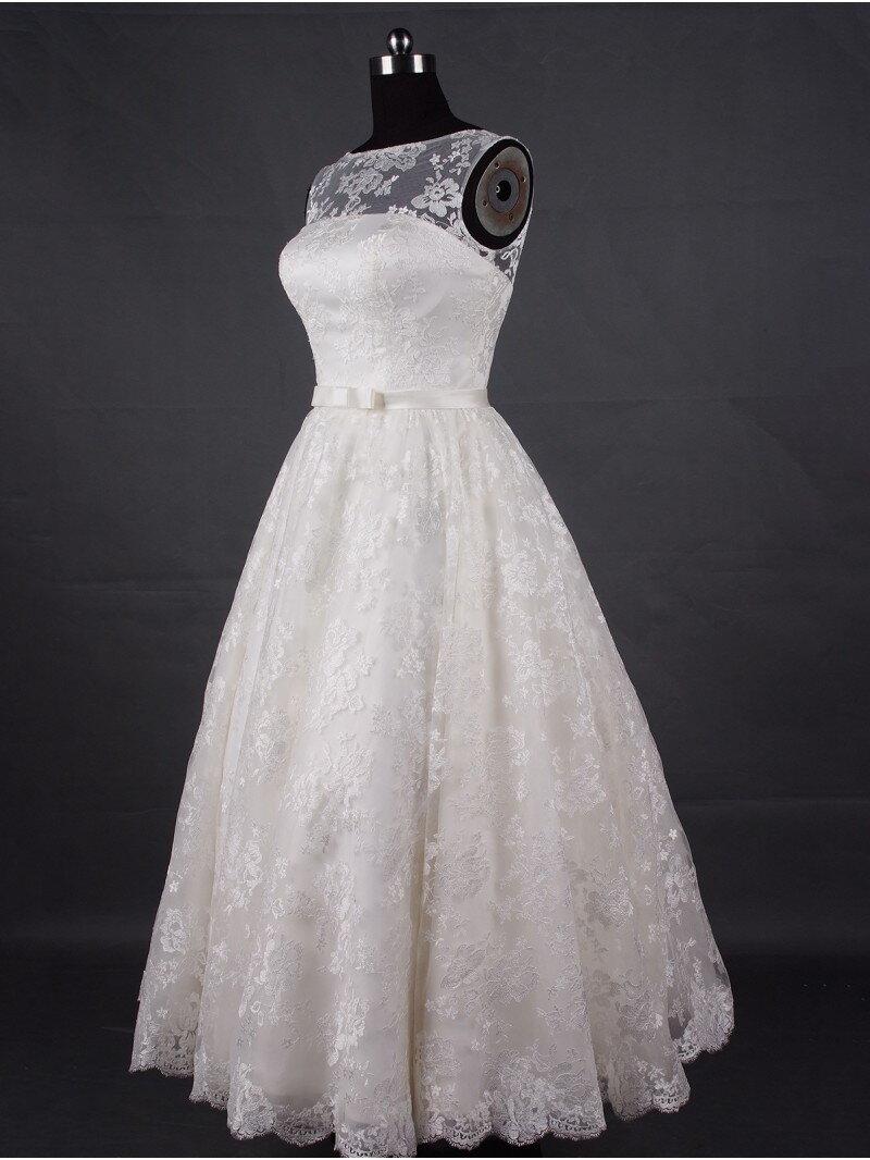 Пошив короткого свадебного платья