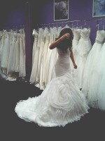 Пошив платья русалка в стиле Вера Вонг