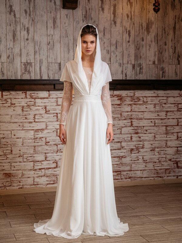 Свадебное платье большого размера Vega 555