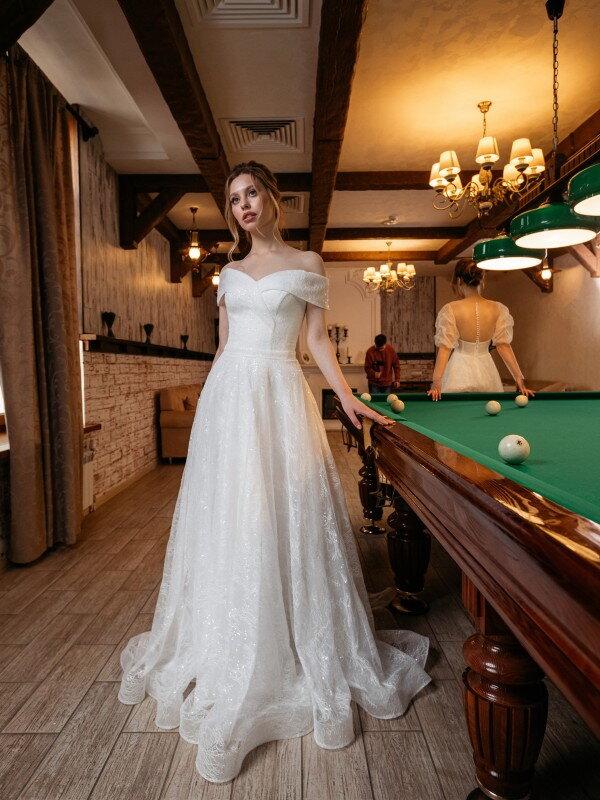 Открытое свадебное платье Salma 691