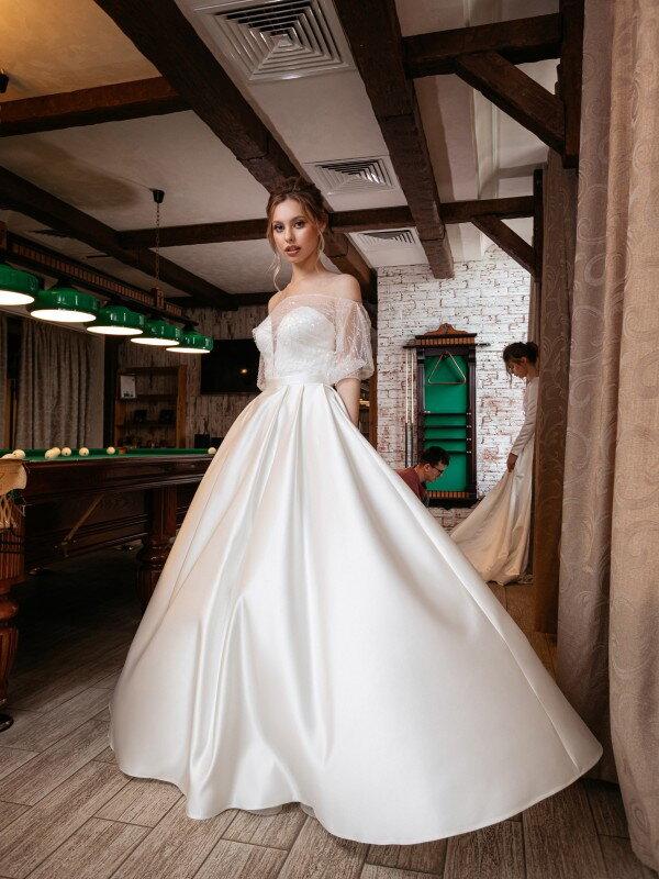 Открытое свадебное платье Talita 721
