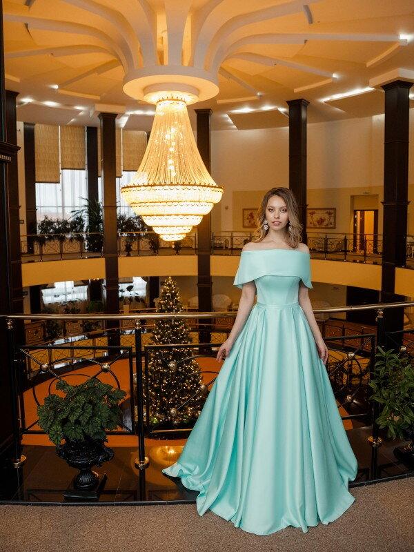 Вечернее платье на выпускной Wave 6781