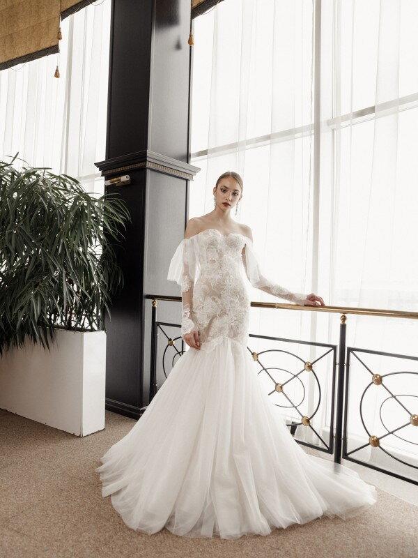 Свадебное платье рыбка Milena 558