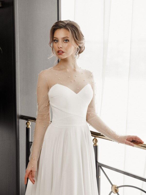 Открытое свадебное платье Sirma 723