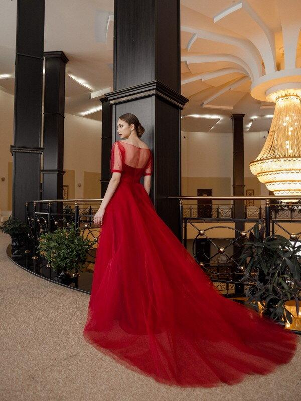 Платье подружки невесты Marsala 763M
