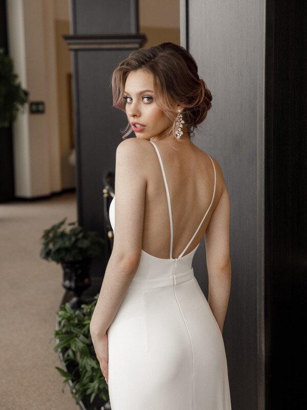 Открытое свадебное платье Vita 892