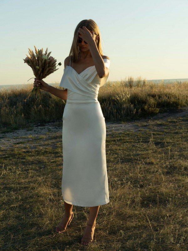 Короткое свадебное платье Darina 2721